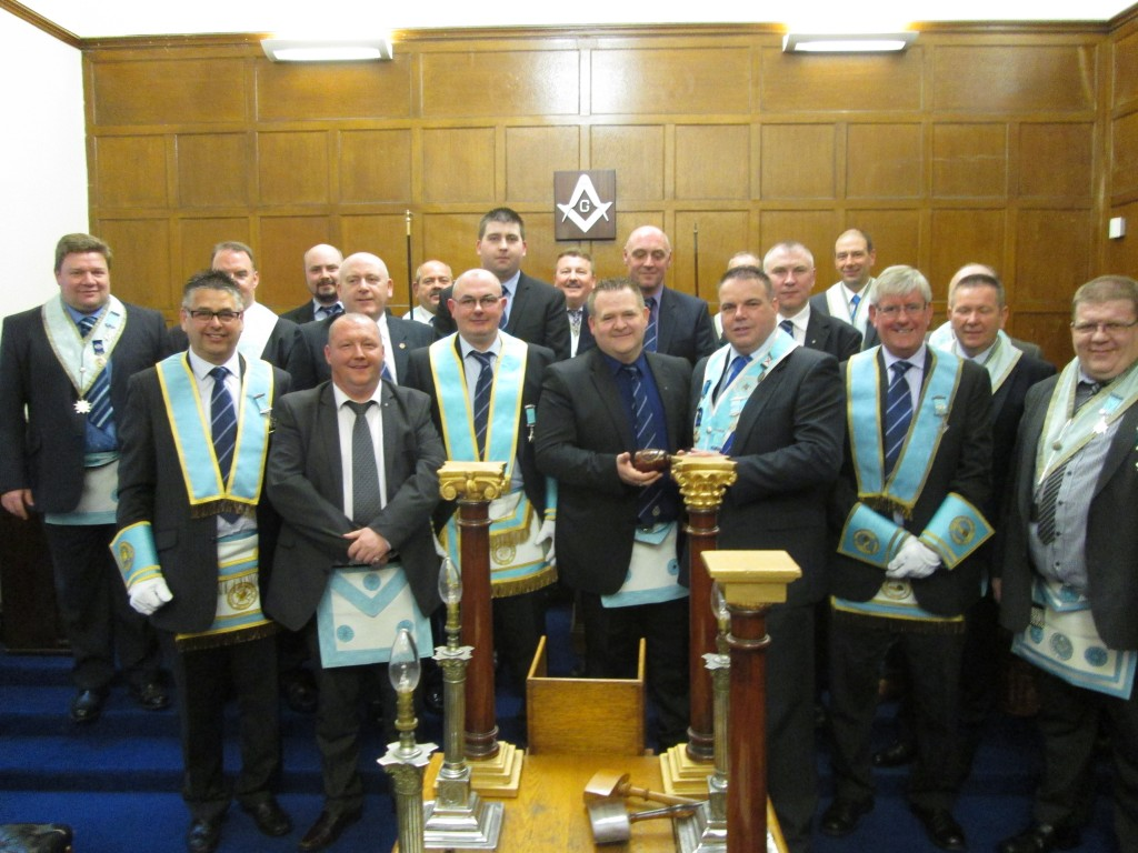 At Belfast Lodge bidding for the TLC maul.