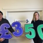 Donation to Autism NI charity
