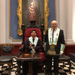 Lodge 669 meeting in Grand Lodge