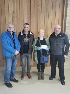 Lodge 669 donation to Hosford Homelessness Services